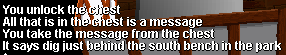 Chest message