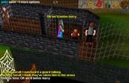 Fight arena escape