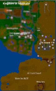 Kharidian desert map