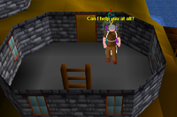 Player talking to Fishing Trawler General Store
