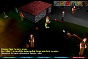 Recruiter cutscene