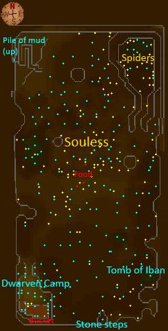 Underground Pass Pit map