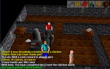 Ernest Chicken completed