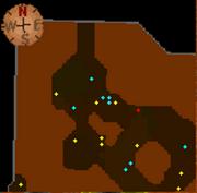 Wilderness Lava Maze mine map