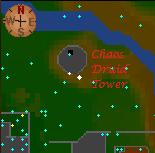 Chaos Druid Tower minimap