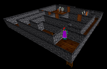 Maze 2nd floor