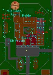 Varrock Palace ground floor map
