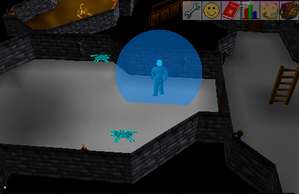 Temple of Ikov dungeon Grabbing Ice arrows