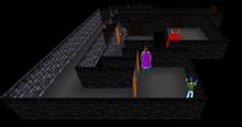 Maze basement