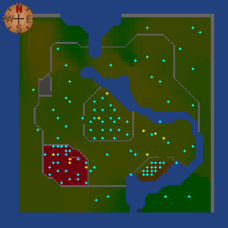 Revived Fisher King Realm Map