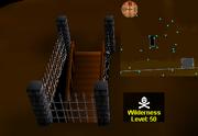 Deep Wilderness dungeon entrance