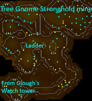 Grand Tree dungeon map