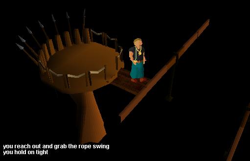 Gnome Course Ropeswing
