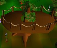 Tree platform (medium)