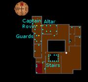 Varrock Palace first floor map