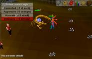 Scrop fight arena