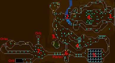 Underground Pass map 1