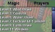 Skills prayers