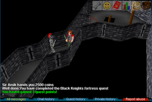 Black Knight Quest Complete
