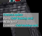 Odd looking wall