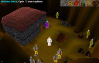 Desert mine topside