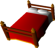Bed (red)