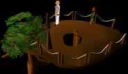 Tree platform (small)