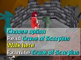 Grave of Scorpius