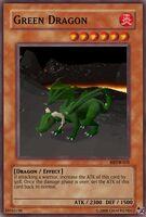Green Dragon ygo