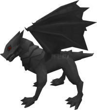Baby iron dragon