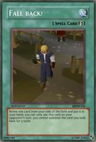 Fall back - card