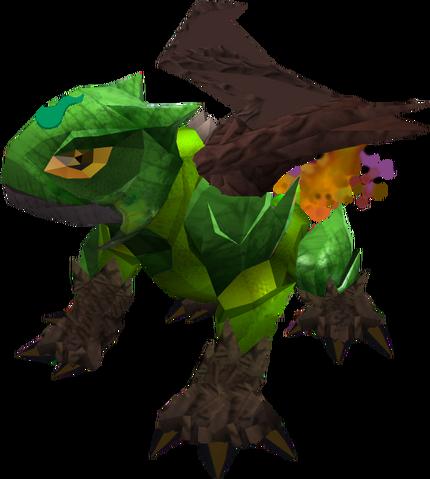 File:Baby guthix dragon.png