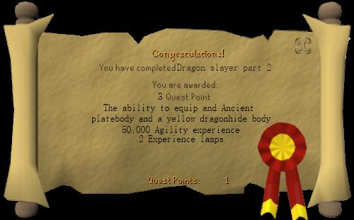 Dragon slayer 2 scroll