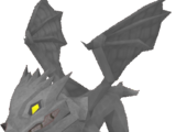 Baby steel dragon