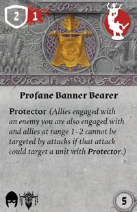 Rwm10 card profane-banner-bearer