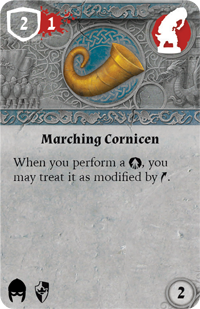 Rwm05 card marching-cornicen