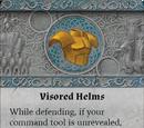Visored Helms
