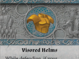 Visored Helms