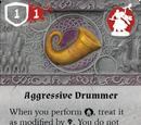 Aggressive Drummer