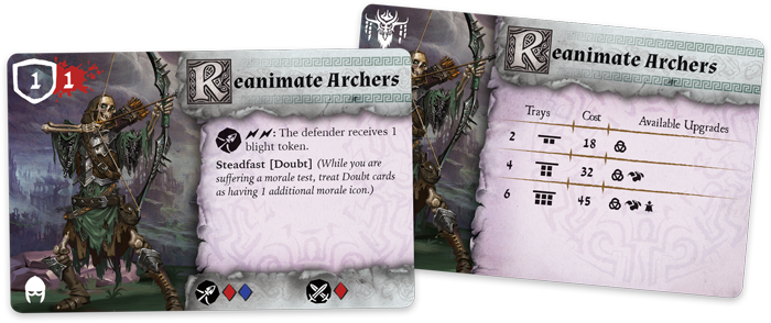 Rwm01 card unit reanimate-archers