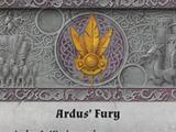Ardus' Fury