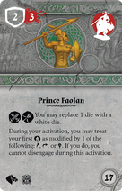 Rwm34 card prince-faolan-mounted