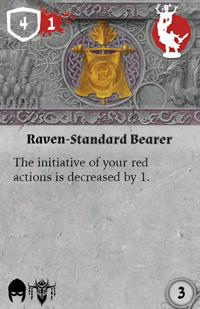 Rwm10 card raven-standard-bearer