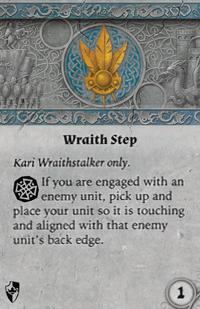 Rwm01 card wraith-step