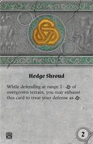 Rwm35 card hedge-shroud