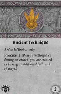 Rwm01 card ancient-technique