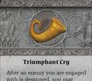 Triumphant Cry