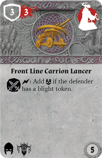 Rwm09 card front-line-carrion-lancer