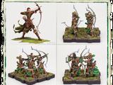 Deepwood Archers Figures