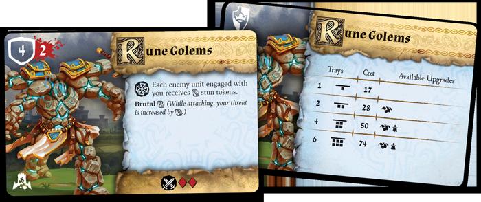Rwm04 cardfan unit rune golems